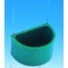 Halbrundnapf GS grün - groß