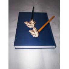 """Bleistift-""""Maxe"""" (gelber Bleistift)"""