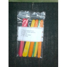 Gretels Ice-Lollies - Refill (12 Stück Ice Lollies, gebohrt)