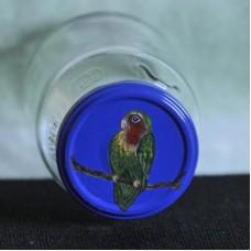 Schmuckglas mit Schraubdeckel